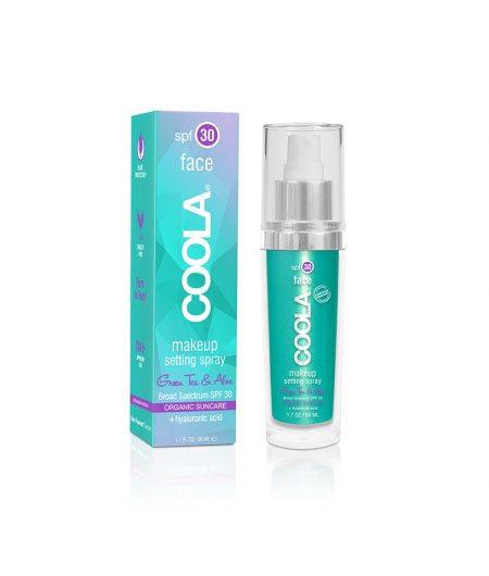 Coola Makeup Setting Spray SPF 30 Green Tea/Aloe