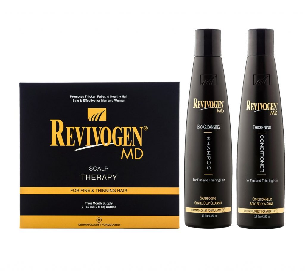 Revivogen Complete Set - Scalp Therapy, Shampoo, and Conditioner