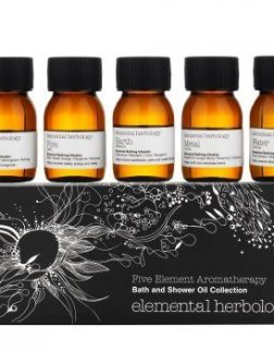 Elemental Herbology Five Element Aromatherapy Bath and Shower Oil Collection