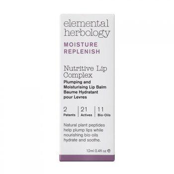 Elemental Herbology Nutritive Lip Complex Plumping & Moisturising Lip Balm