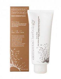 Elemental Herbology Sun Kiss Body Hydrator with Self-Tan