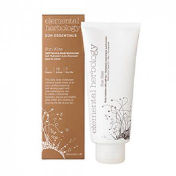 Elemental Herbology Sun Kiss Body Hydrator with Self-Tan