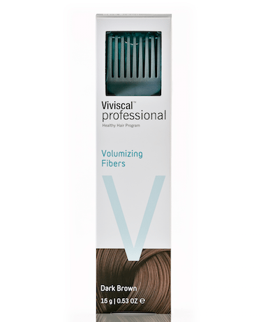 Viviscal Volumizing Fibers Dark Brown