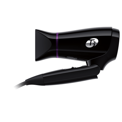 T3 Featherweight Compact folding hair dryer (Black)