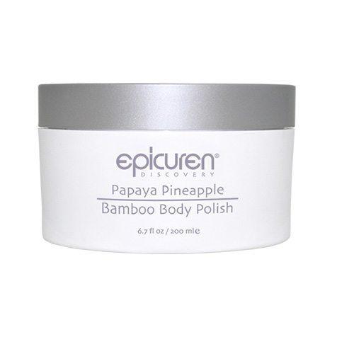 Epicuren Papaya Pineapple Bamboo Body Polish
