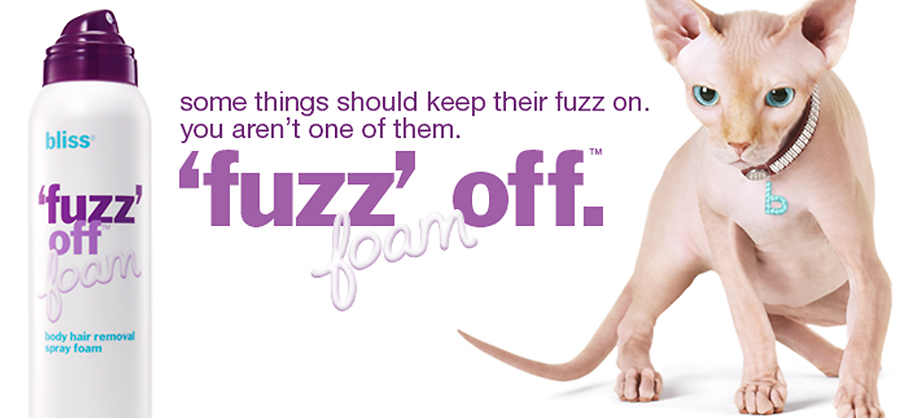Bliss fuzz it off