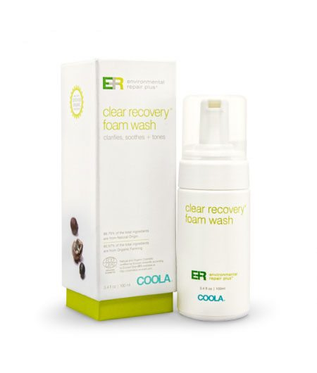 Coola ER+ Clear Recovery Foam Wash