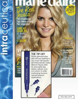 Intraceuticals Clarity marie claire may 2010