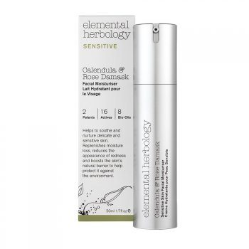 Elemental Herbology Calendula & Rose Damask Facial Moisturiser