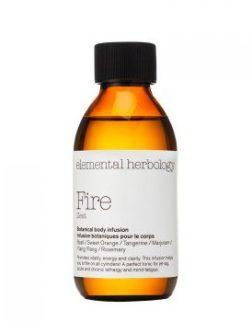 Elemental Herbology Fire Zest Botanical Body Infusion Massage Oil