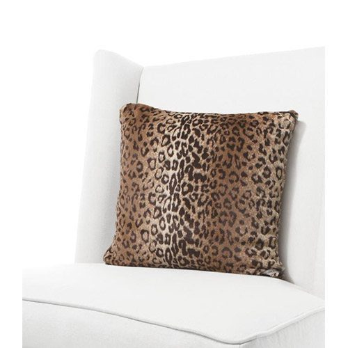 Little Giraffe Luxe Leopard Throw Pillow