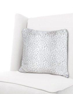 Little Giraffe Luxe Snow Leopard Throw Pillow