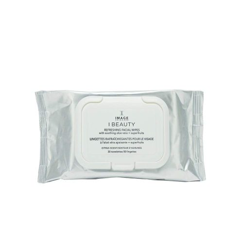 IMAGE Skincare I BEAUTY refreshing facial wipes (30 towelettes)