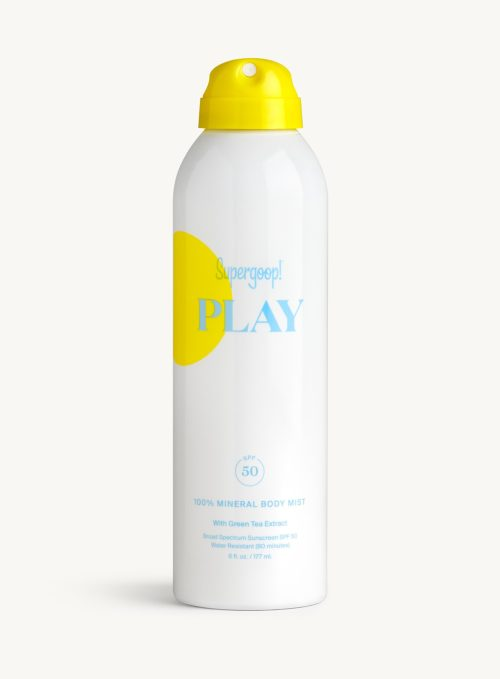 Supergoop! PLAY 100% Mineral Body Mist SPF 50 with Green Tea Extract