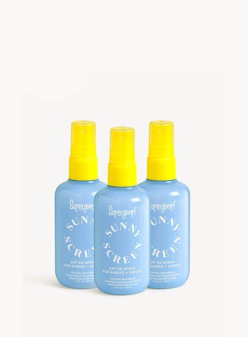 Supergoop! Sunnyscreen™ 100% Mineral Spray SPF 50 Trio